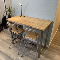 Bar Table + 2 Chairs for Sale in Portland,  OR