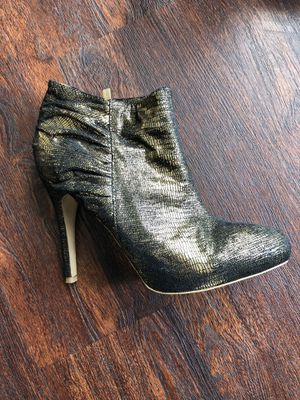 Snake pattern gold boots for Sale in Wenatchee, WA