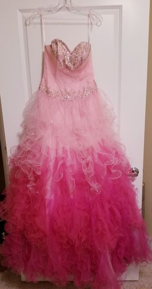Strapless Princess Style Formal Ball Gown for Sale in Biloxi, MS