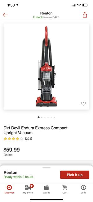 Dirt devil express for Sale in Renton, WA
