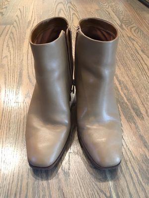Size 7.5 Franco Sarto Tan Boots for Sale in Alexandria, VA