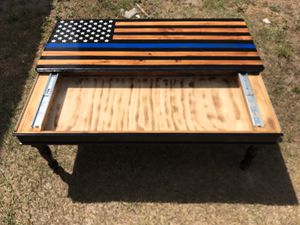 Blueline coffee table concealment area for Sale in Fort Meade, FL