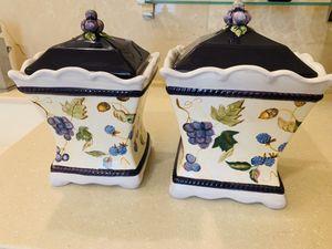 Beautiful ceramic jars for Sale in Falls Church, VA