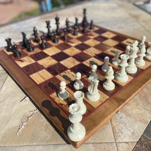 Custom And Hand Made Chess Set for Sale in Claremont, CA
