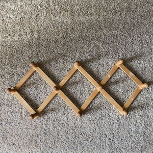 ‼️Wooden Accordion Rack‼️ for Sale in Edgar, WI