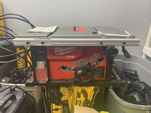 "Milwaukee Fuel One-Key Brushless 8-1/4"" Table Saw (tool only) for Sale in Corona, CA"