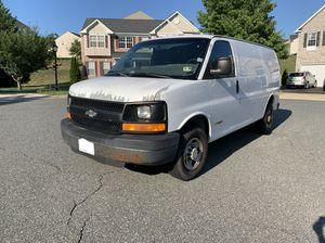 2005 Chevrolet Express - Extended Work Van 3D for Sale in Fredericksburg, VA