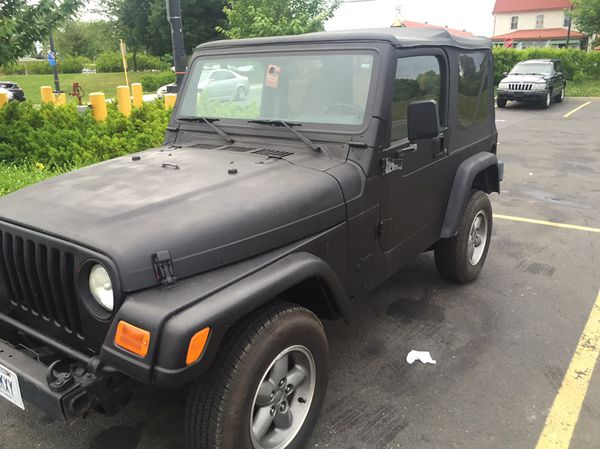 Jeep Wrangler TJ 97, 2 5L 5 speed very solid frame and tub for Sale in West  Hartford, CT - OfferUp
