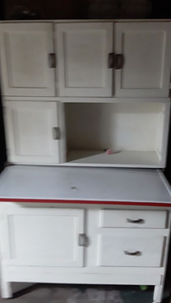 Original Hoosier kitchen Cabinet with Flour Sifter