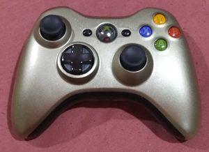 Gold Metallic custom X Box 360 Controller for Sale in Cairo, NE