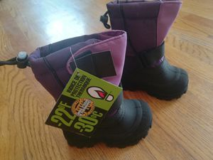 Tundra Quebec Water Resistant Child Winter/ Snow Boots 5 M US Little Kid for Sale in Renton, WA