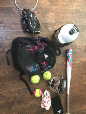 Softball starter kit for Sale in Westminster, CA