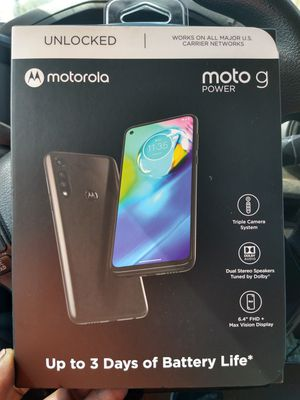 Motorola g-power Android unlocked for Sale in San Marcos, CA