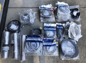 Brand New Appliance Cords, Connections, Supply Lines, Gas Lines, Vents for Sale in Ceres, CA