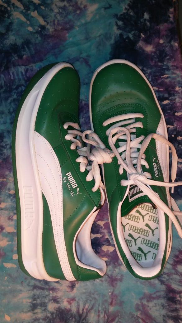 super popular cace3 4728d PUMA GV Special Sport Lifestyle GREEN Sz 10 Sneakers for Sale in New Port  Richey, FL - OfferUp