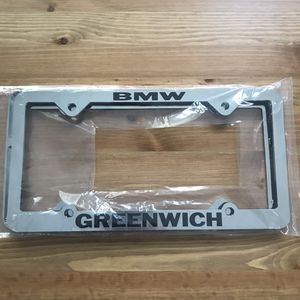 BMW of Greenwich License Plate Frames for Sale in Stamford, CT