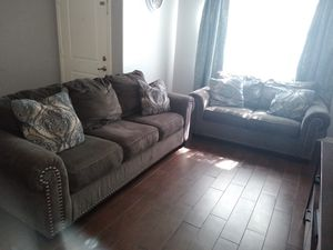 Grey couches for Sale in Tolleson, AZ