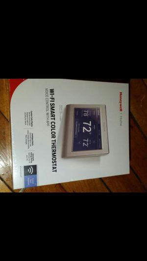 Wi-Fi smart color thermostat for Sale in Boston, MA
