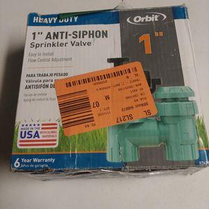 """Anti Siphon Sprinkler valve 1"""" for Sale in Las Vegas, NV"""