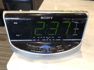 SONY Large Digit Dual Alarm Clock for Sale in Mill Creek, WA