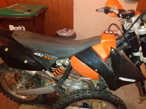 06 KTM 450 EXC Dakar racer for Sale in Waynesboro, PA