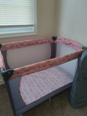 Costway Baby PlayPen/ Crib/ Bassinet for Sale in Portsmouth, VA