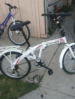 Stowabike Folding bike for Sale in Santa Ana, CA