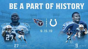 Colts vs titans nfl game for Sale in Evansville, IN