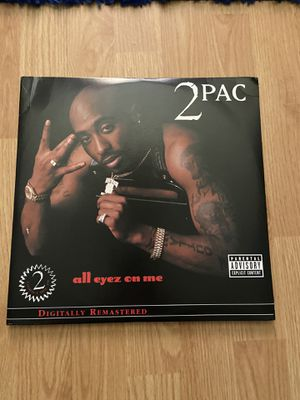 Tupac 2Pac All Eyez on me vinyl record 4LP LP Rap legend death row records for Sale in Plano, TX