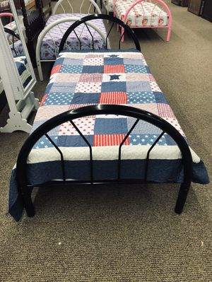 Twin Bed With Free Mattress For $129.99 for Sale in Dallas, TX
