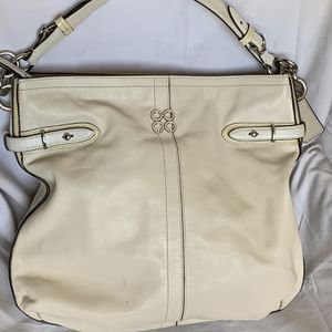 Coach White Leather Hobo Bag Purse for Sale in Largo, FL