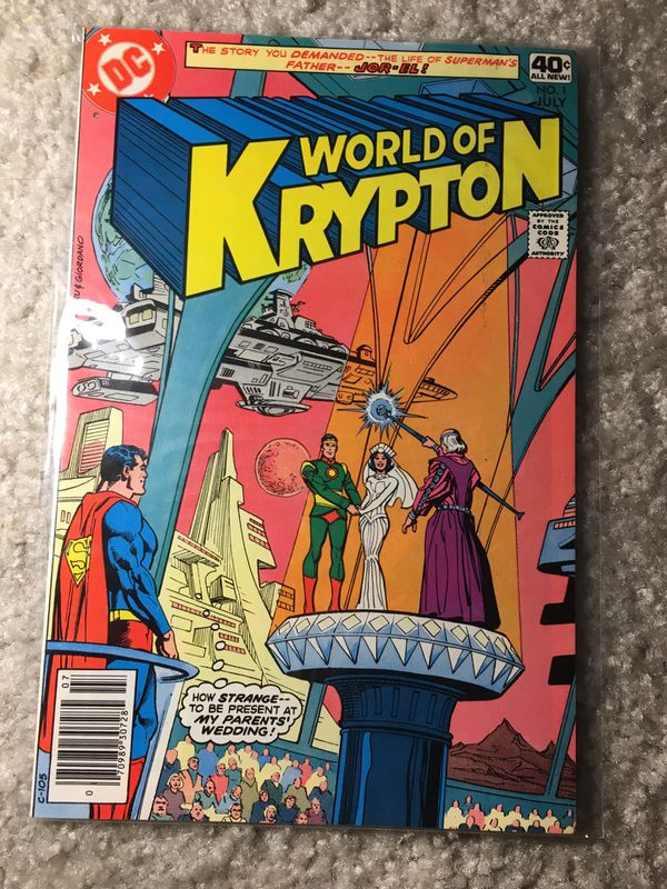 Superman world of krypton comic book 1979 issue
