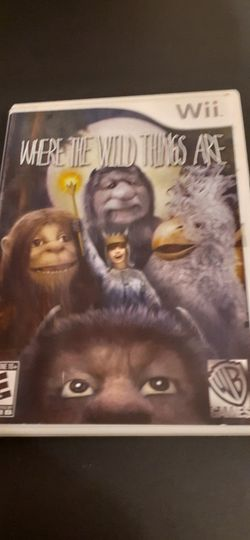 WHERE The WILD THINGS Are (Nintendo Wii + Wii U) for Sale in Lewisville,  TX