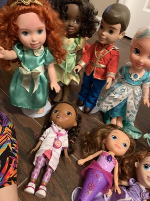 Princess dolls for Sale in Tampa, FL