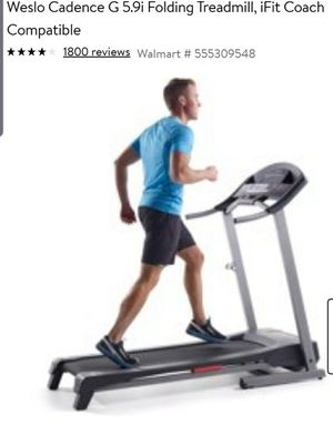 Foldable treadmill for Sale in Parma, OH
