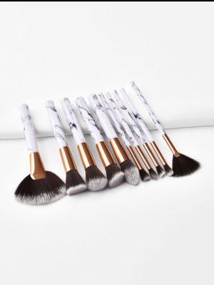 Marble Handle Makeup Brush 10pcs for Sale in Philadelphia, PA