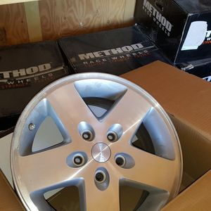 5 2008 Stock Jeep Wrangler Wheels for Sale in Hesperia, CA