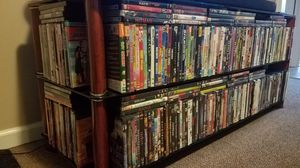 400 + DVDs no doubles Blu-Ray action adventure family kids westerns horror for Sale in Clarksville, TN