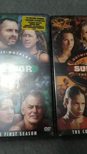 Survivor or TV show box sets for Sale in Hollywood, FL