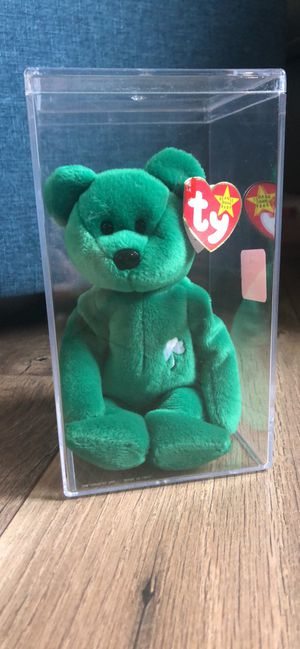 Erin the Bear - Beanie Baby for Sale in Perkasie, PA