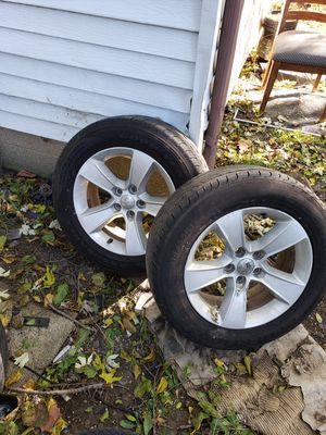 Dodge charger rims and tires for Sale in Peoria, IL