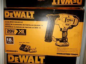 Dewalt 18g 20v XR new condition. Kit for Sale in Durham, NC