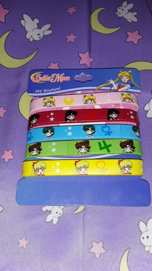 Sailor moon PVC wristband for Sale in Glendale, AZ