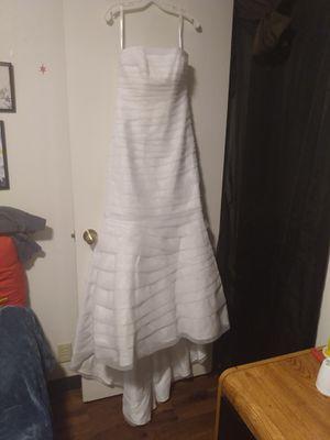 David's Bridal strapless wedding/reception dress for Sale in Fircrest, WA