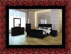 11pc black Marley bedroom set for Sale in Hyattsville, MD