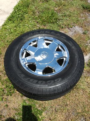 """17"""" CADILLAC ESCALADE WHEELS+ TIRES + TPMS for Sale in North Miami, FL"""