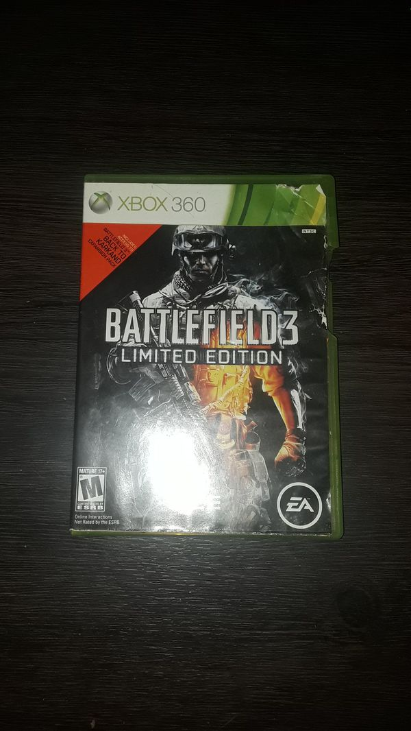 BATTLEFIELD3 limited edition
