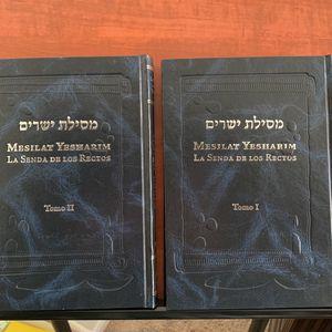 Mesilat Yesharim, Tora, Ramjal, Book, Judio for Sale in Hanford, CA