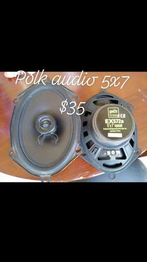 Polk audio 5 x7 for Sale in Fresno, CA