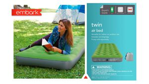 4x Single High Twin Air Mattress Embark for Sale in Los Angeles, CA